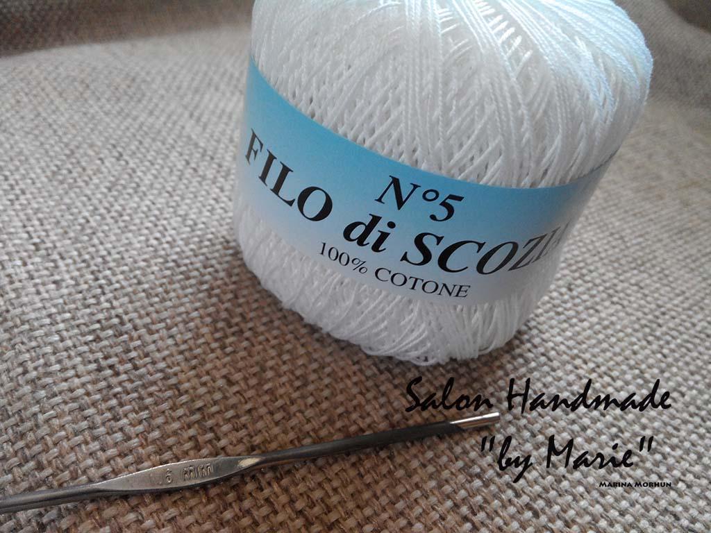 Filo Di Scozia пряжа для вязания платья хлопок