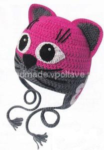 гламурная детская шапочка