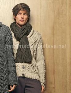 шарф из коллекции Bergere de France