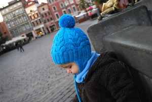 children's knitted cap