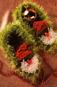 homemade knitted slippers New Children