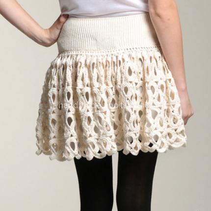 Crochet crochet skirt