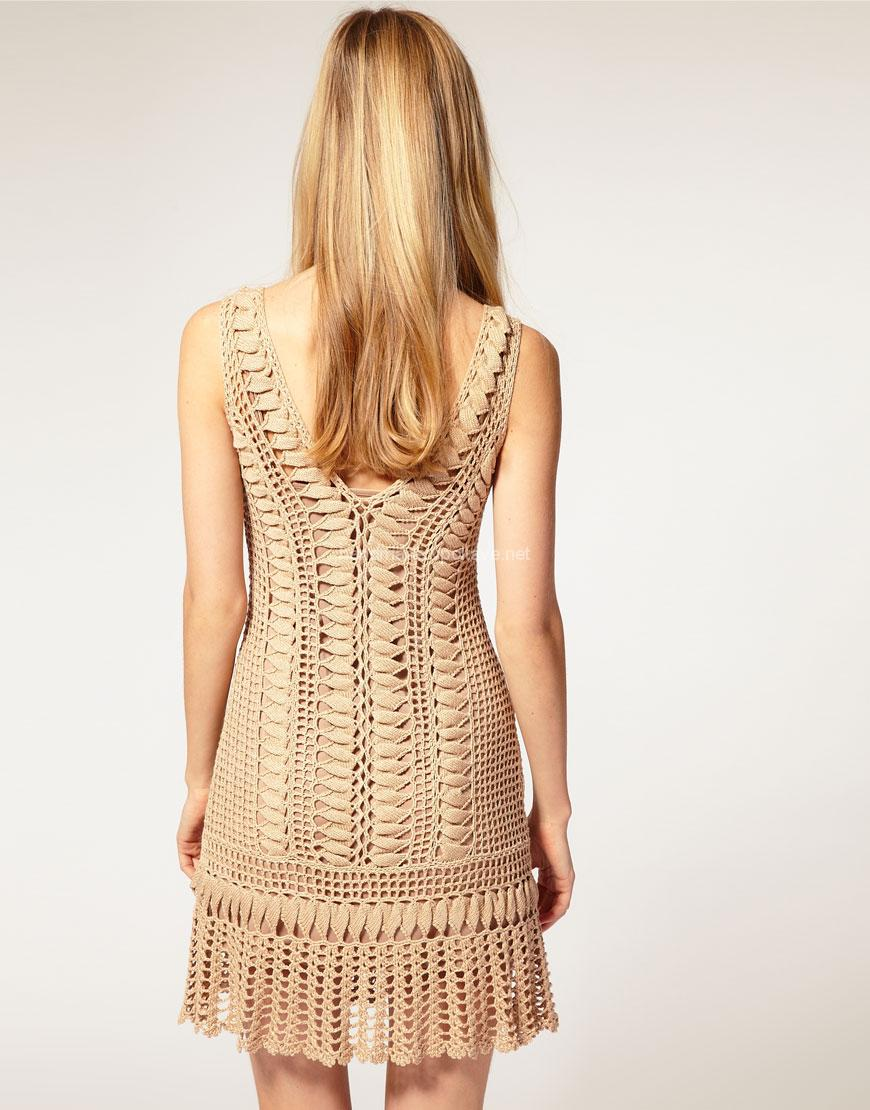 Charming knitted dress