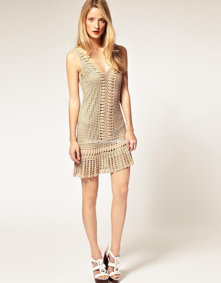 Чарівне в'язане плаття